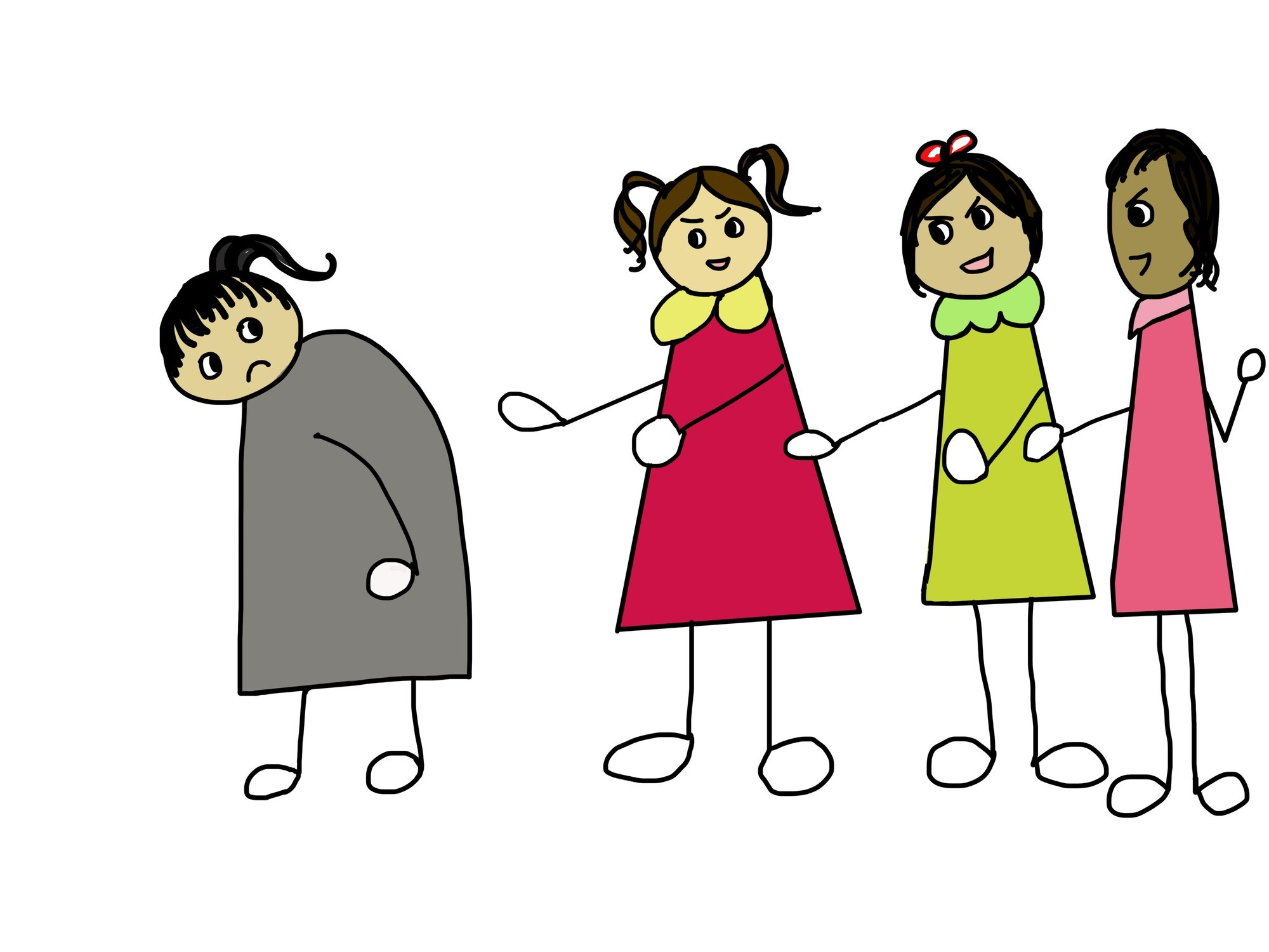 The benefits of being. Bully clipart social bullying