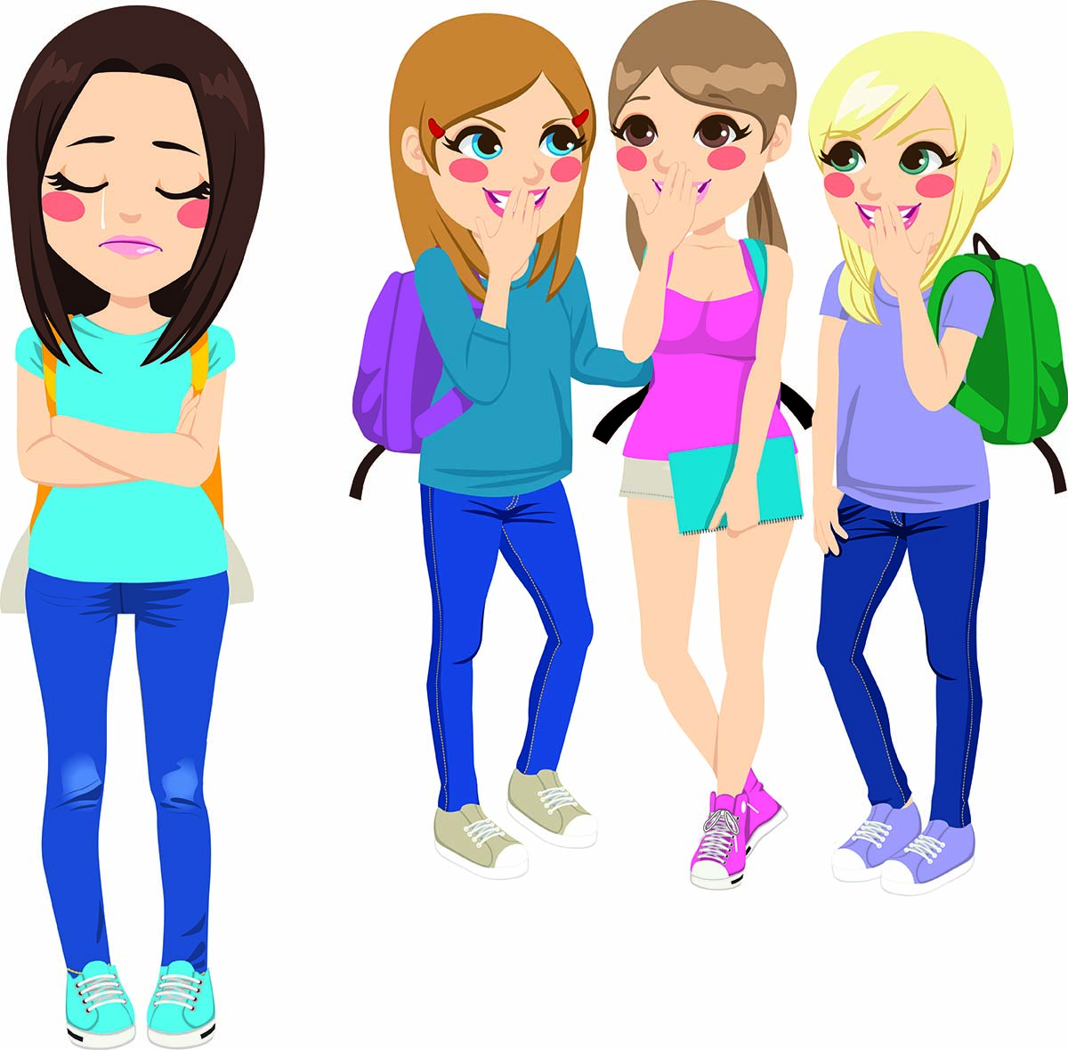 Relational what is it. Bully clipart social bullying