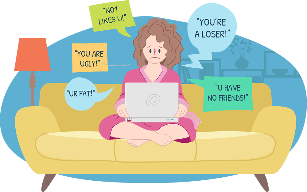 Cyberbullying information for parents. Young clipart older age