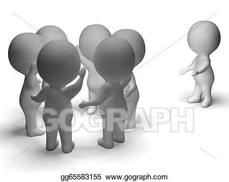 Bully clipart social exclusion. Drawing excluded from group
