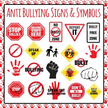 Bully clipart symbol. Teaching resources teachers pay