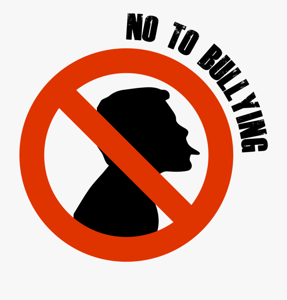 Stop bullying no to. Bully clipart symbol