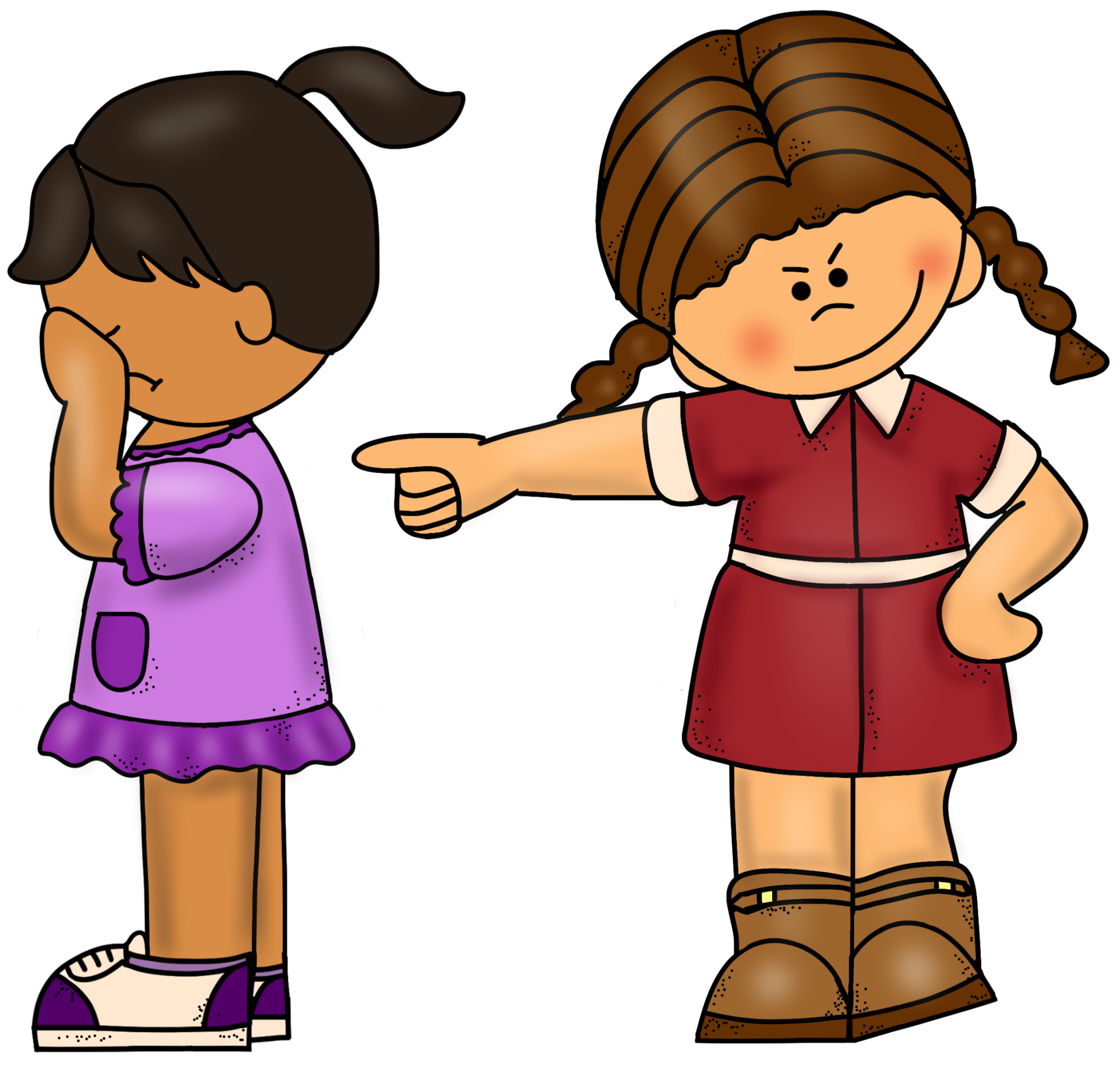conflict clipart bullying