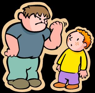 Bully clipart unkind. Cyber bullying in your