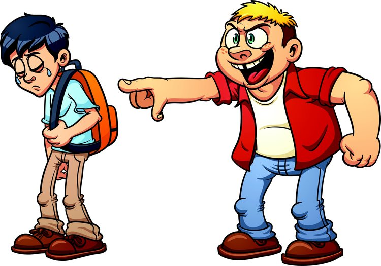 Bullying every school s. Bully clipart unkind