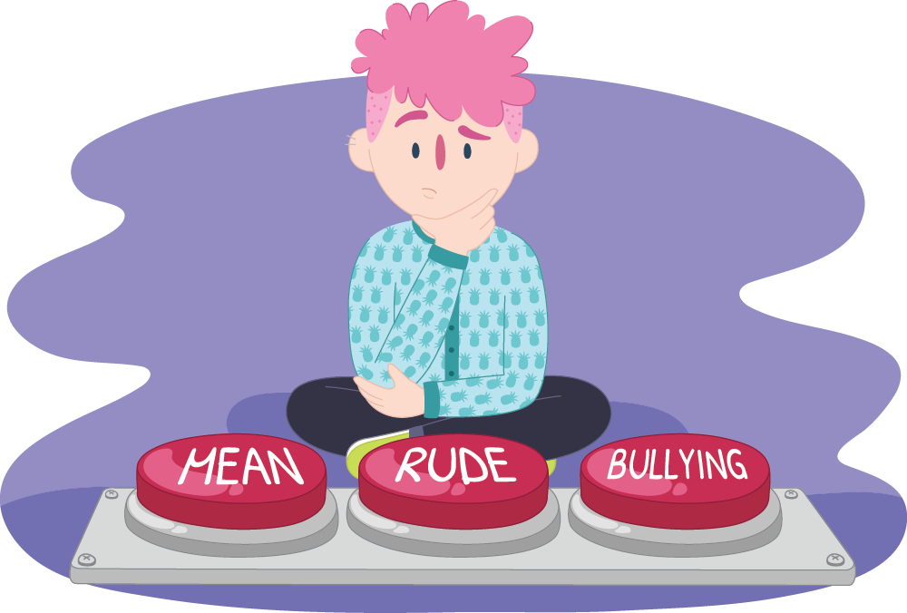Bully clipart unkind. How to tell if