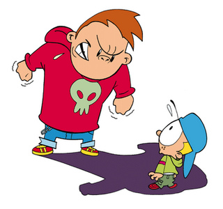 Bullying clipart bullying kid. The definition of for