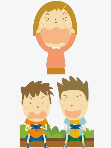 Simple characters design modeling. Bullying clipart cartoon character