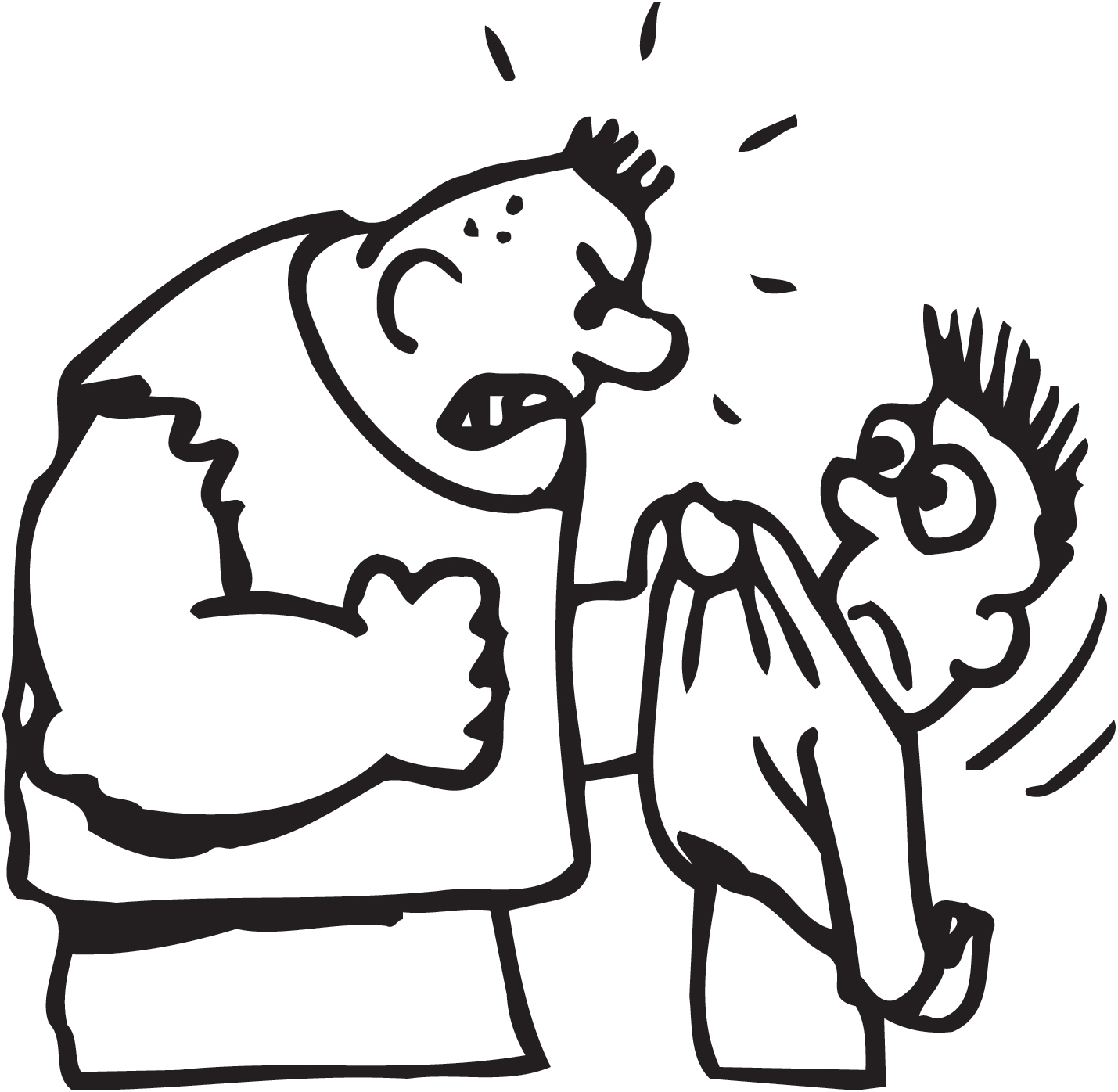 Bullying clipart easy.  collection of in