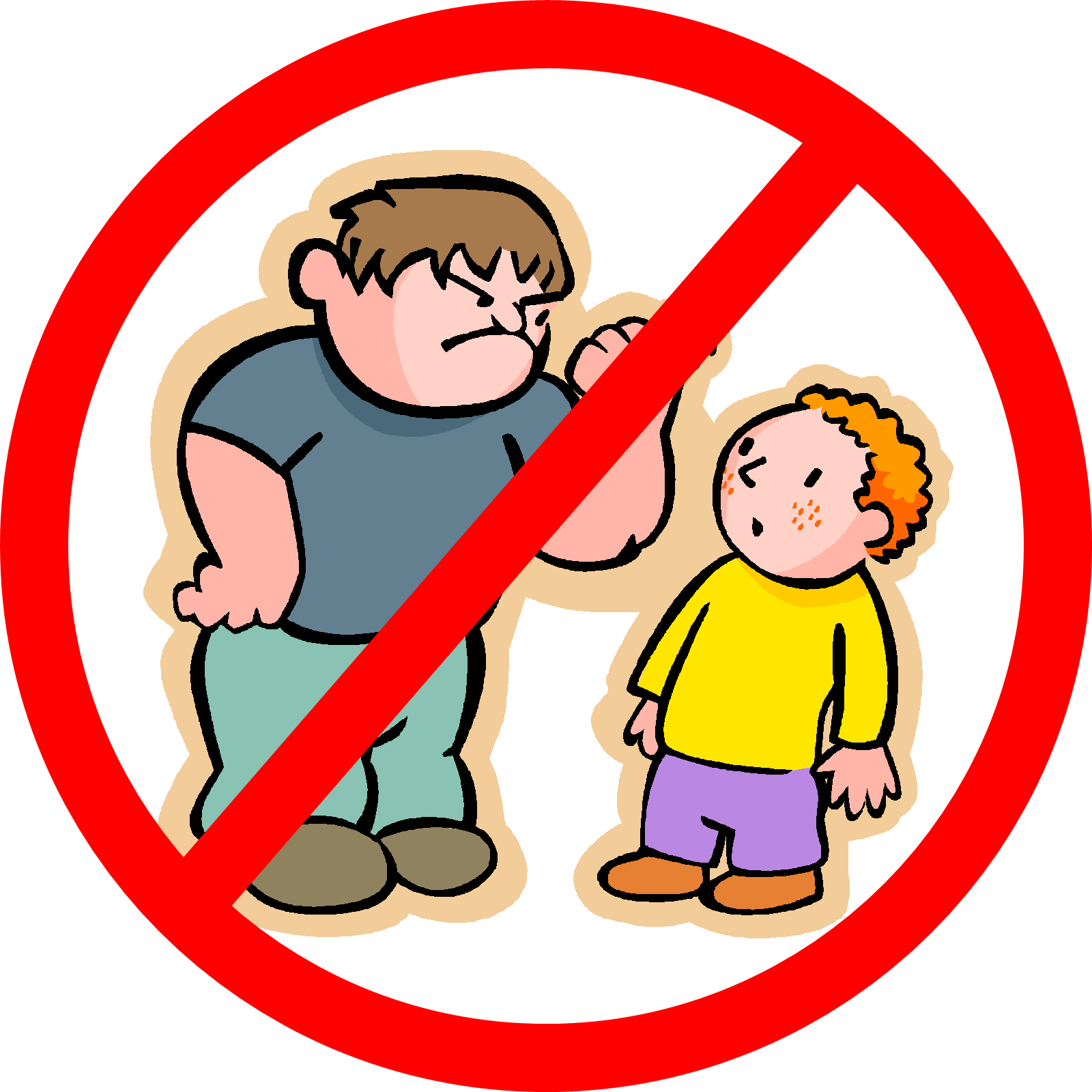 Kindergarten preschool for parents. Respect clipart bullying