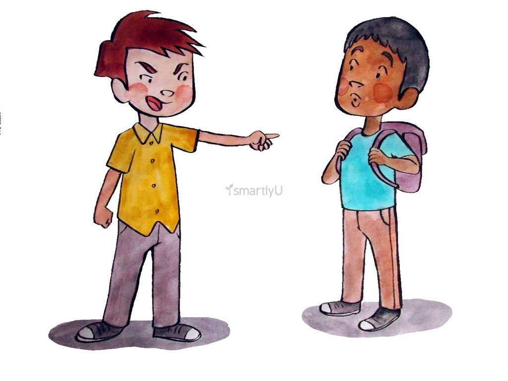 Social and emotional learning. Bullying clipart name calling