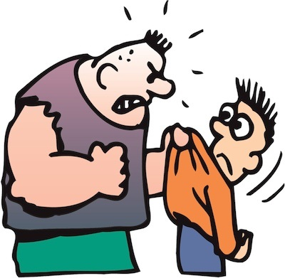 Bullying clipart physical contact. Is it ok to