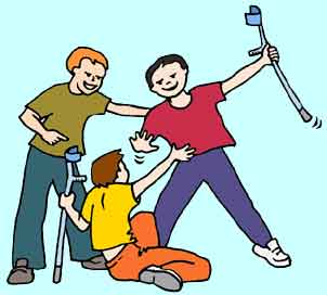Bullying clipart prejudicial. Take out some of
