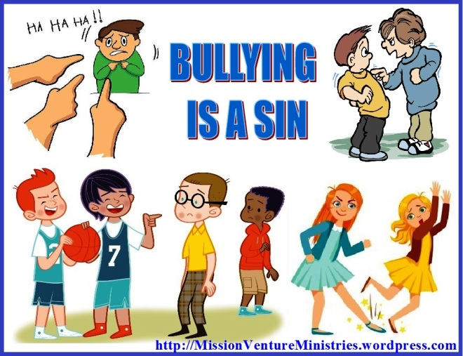 Bullying clipart quarrelsome. Is a sin mission