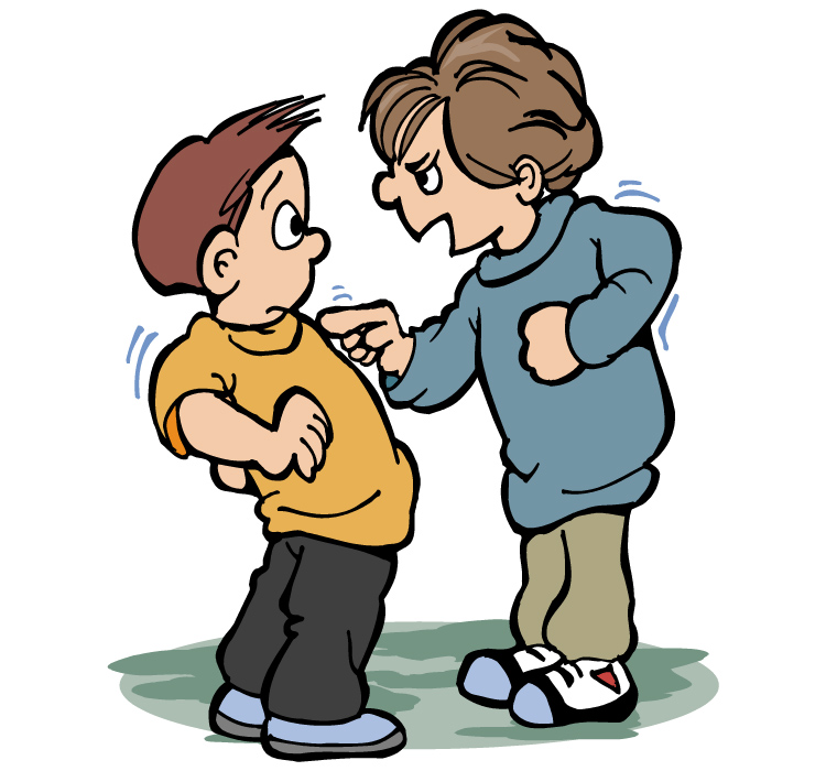 Bullying clipart quarrelsome. Drawing free download best