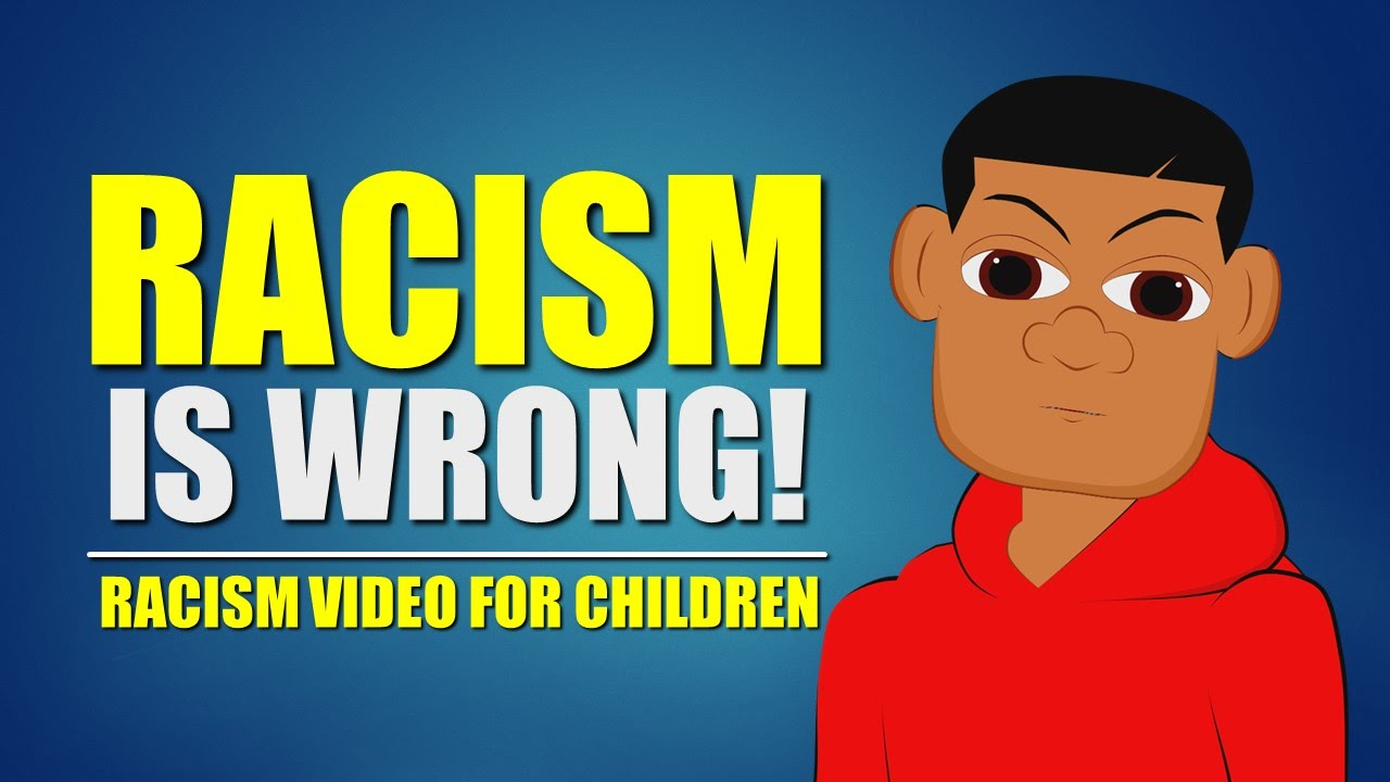 Bullying clipart racist. Racism is wrong watch