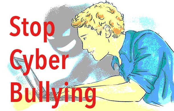 Racism and online issues. Bullying clipart racist