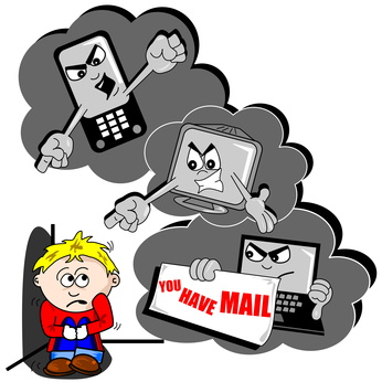 What is cyber brim. Bullying clipart relational bullying