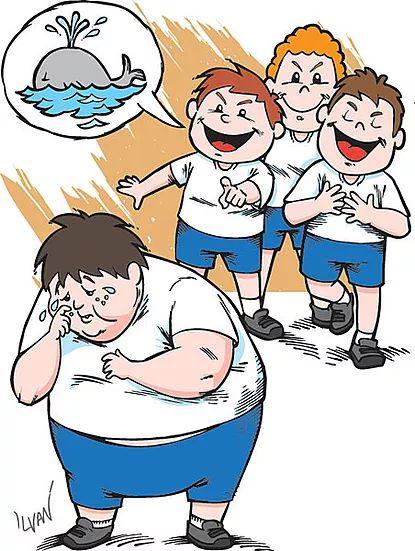Bullying clipart scene.  best bulling images