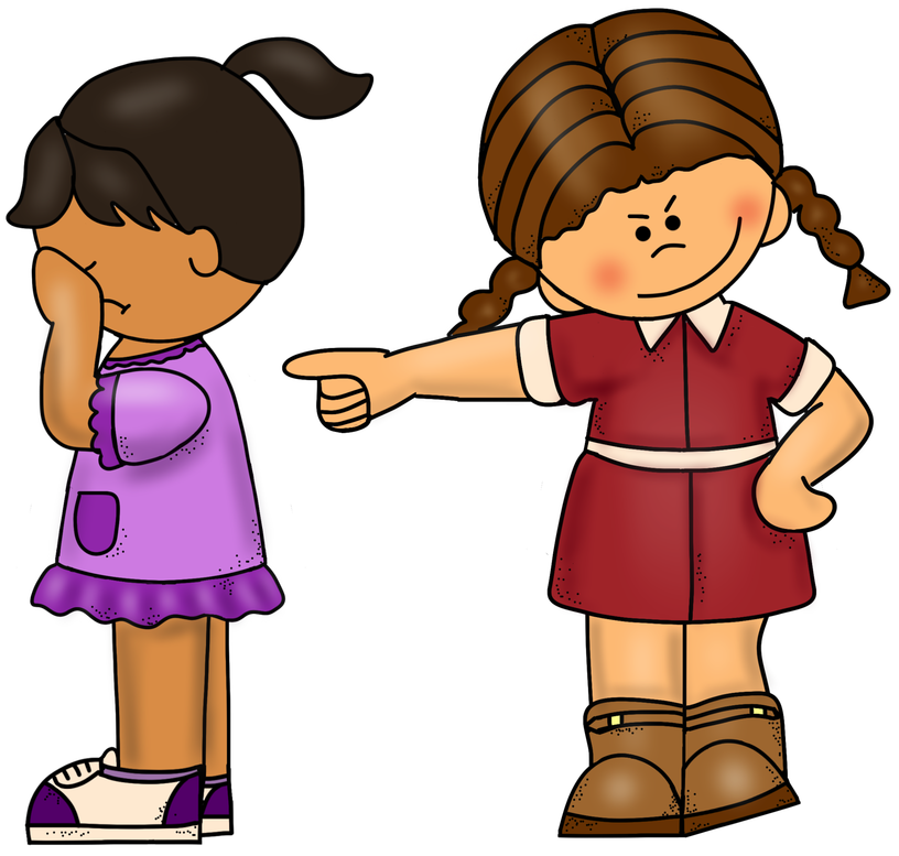 Yelling clipart rude person. Bullying is an issue