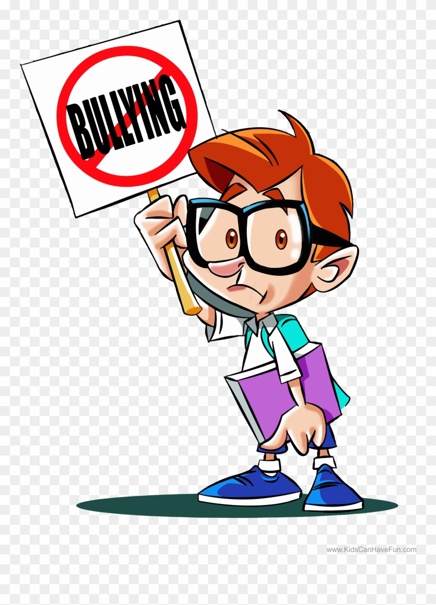Bullying clipart student. Stop poster for school