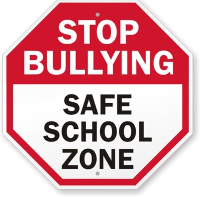 best say no. Bullying clipart word