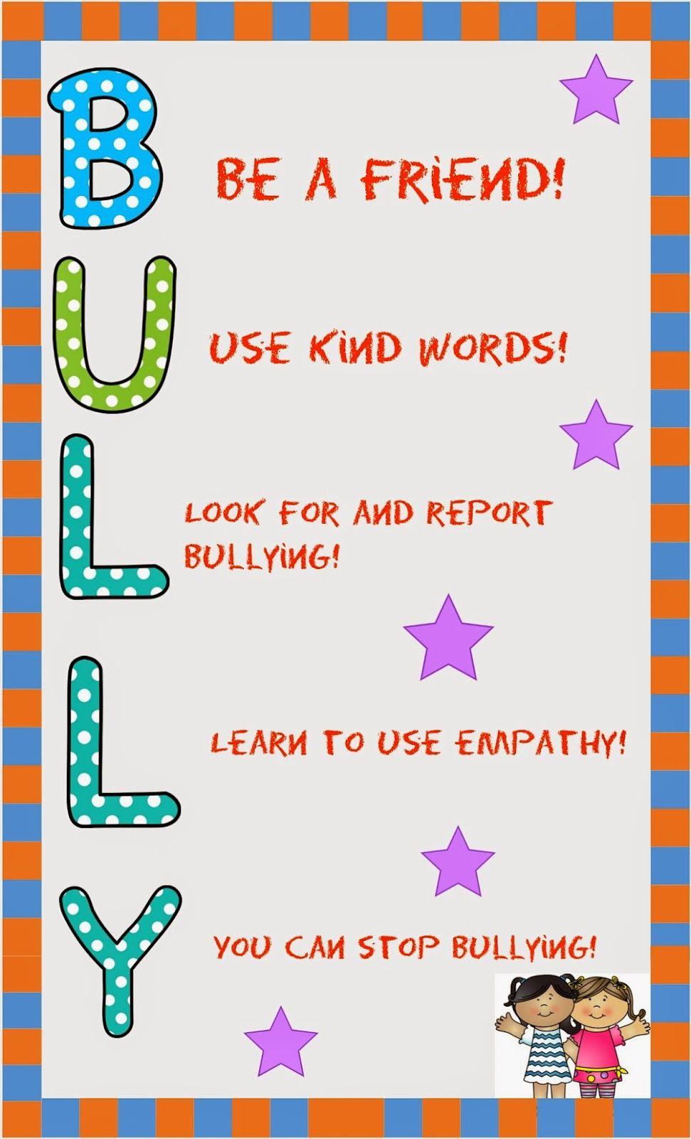 Bullying clipart word. B u l y