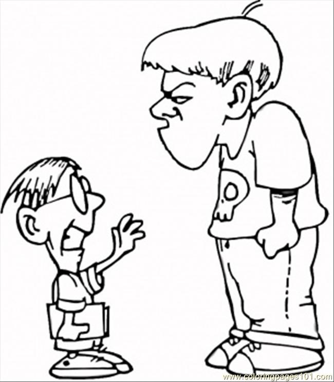 lessons your child. Bullying clipart word