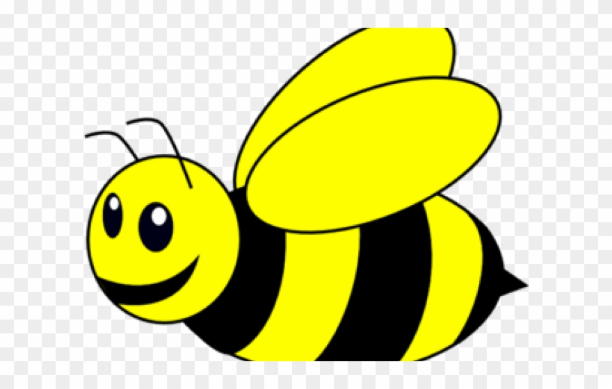 Bumblebee black and white. August clipart bumble bee