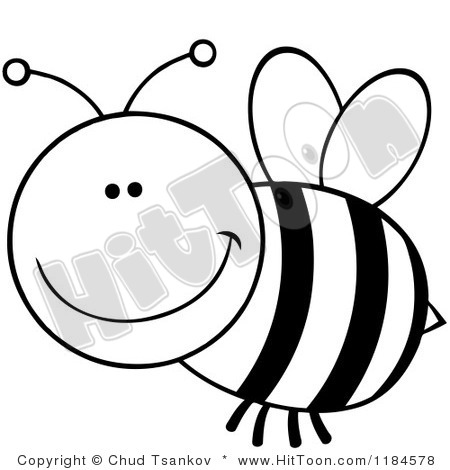 Bumblebee clipart. Trail spelling bee black