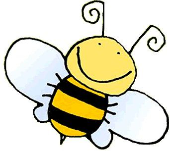 Wasp buzzy bee pencil. Bumblebee clipart animated