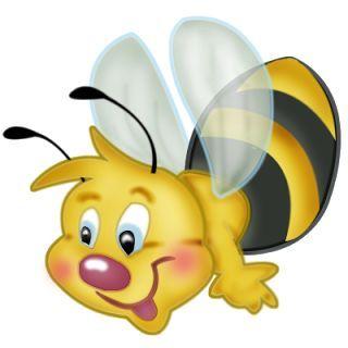 Cartoon bugs clip art. Bumblebee clipart animated