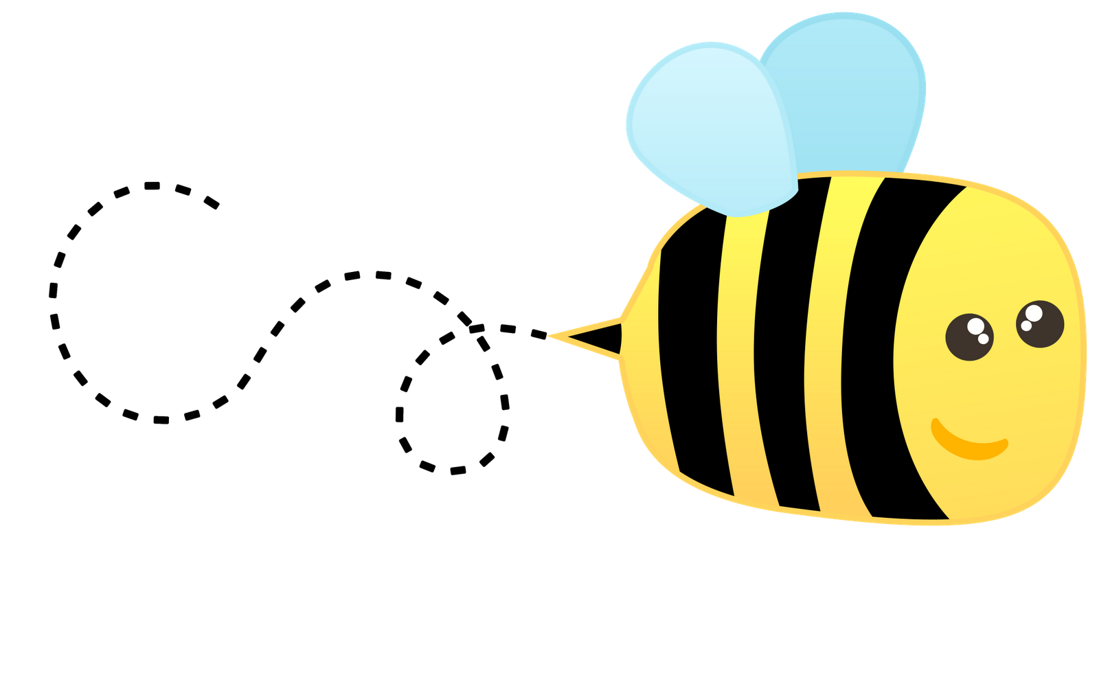 Night clipart cute. Bee images free download