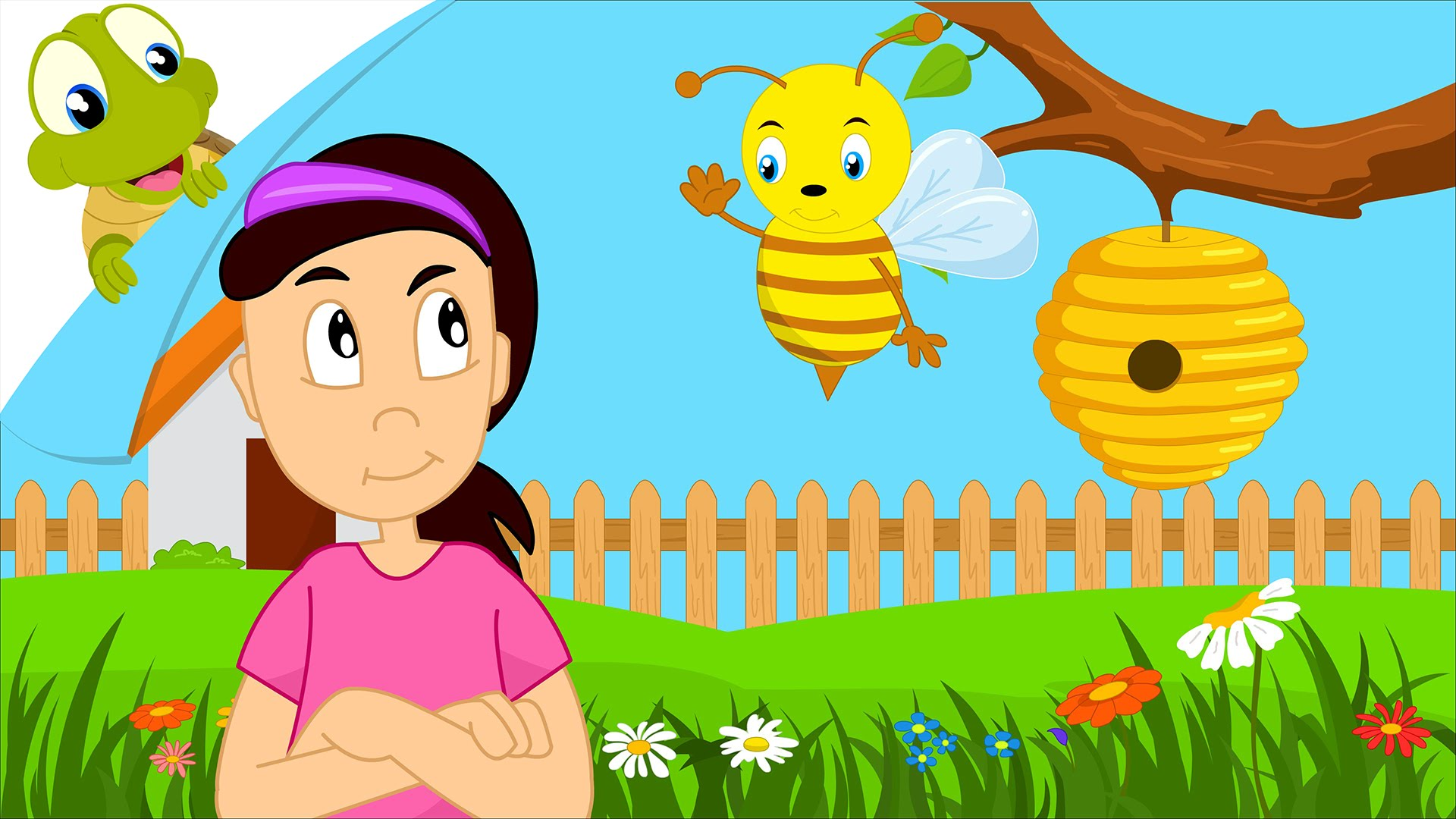 Bumblebee clipart baby bumblebee. Bumble bee song nursery