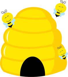 Bumble bee clip art. Bing clipart beehive