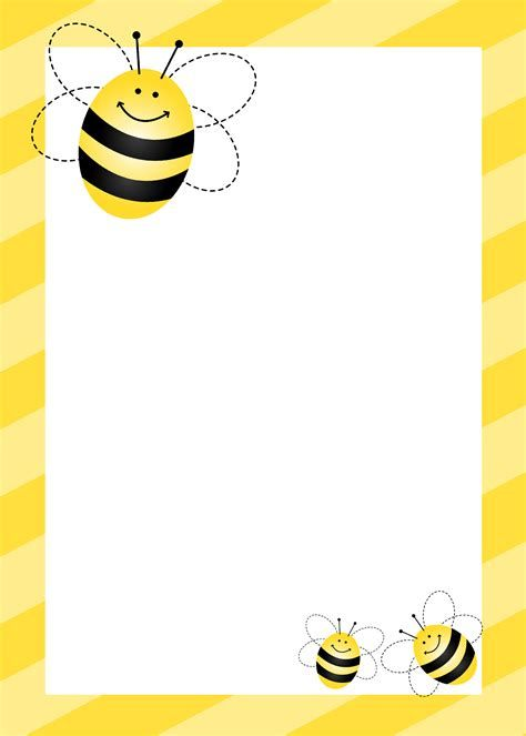Image result for inspiring. Bumblebee clipart border