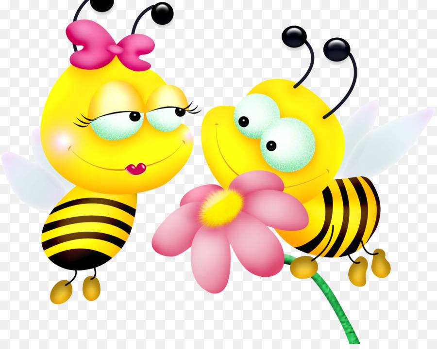 Flowers clip art cartoon. Bumblebee clipart border