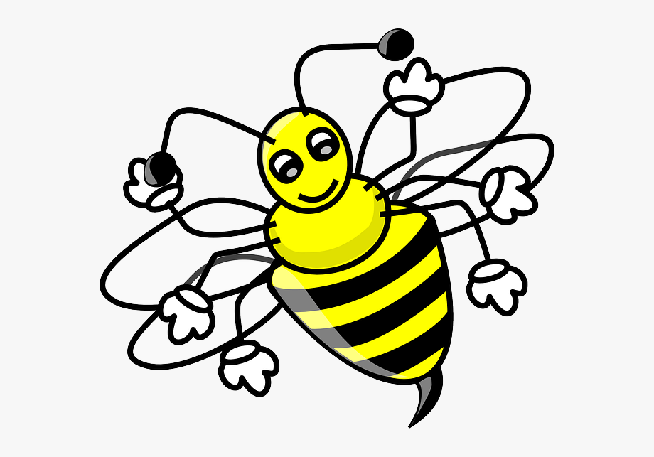 Clip art bees can. Bumblebee clipart bumble bee