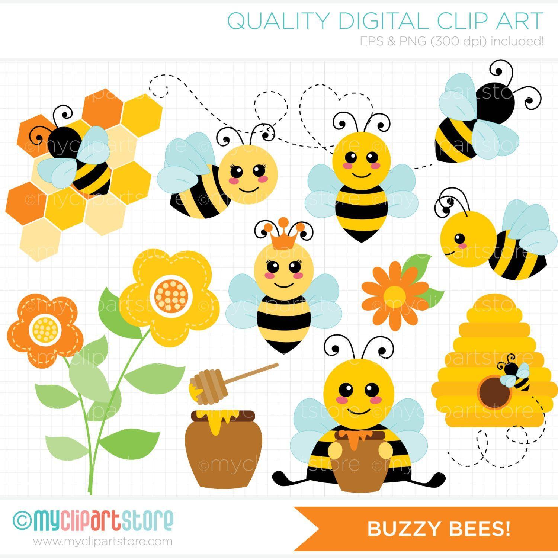 Bees honey bumble clip. Bumblebee clipart buzzy bee