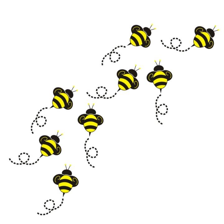 Flying bumble . Bumblebee clipart buzzy bee
