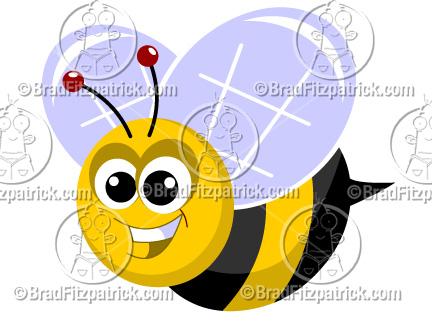 A cute cartoon clip. Bees clipart bumble bee