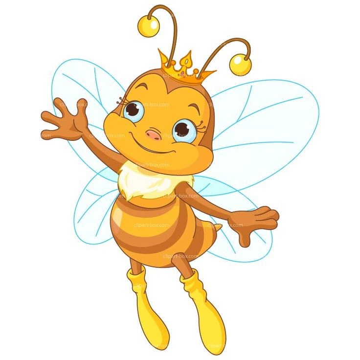 Queen bee pencil and. Bumblebee clipart cartoon