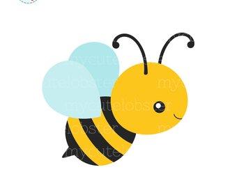 Honey bee etsy single. Bees clipart flying