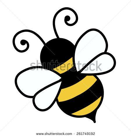 Bumblebee clipart easy. Free bumble bee cartoon