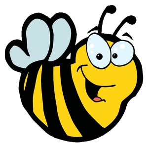 Bumble bee . Bumblebee clipart face