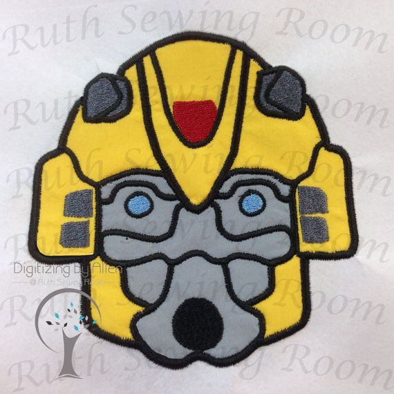 Bumblebee clipart face. Bumble bee applique transformers