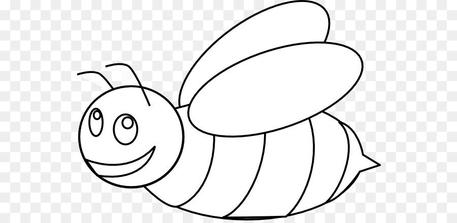 Honey bee clip art. Bumblebee clipart outline
