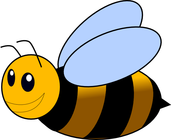 Clipart bee printable. Free bumble template download