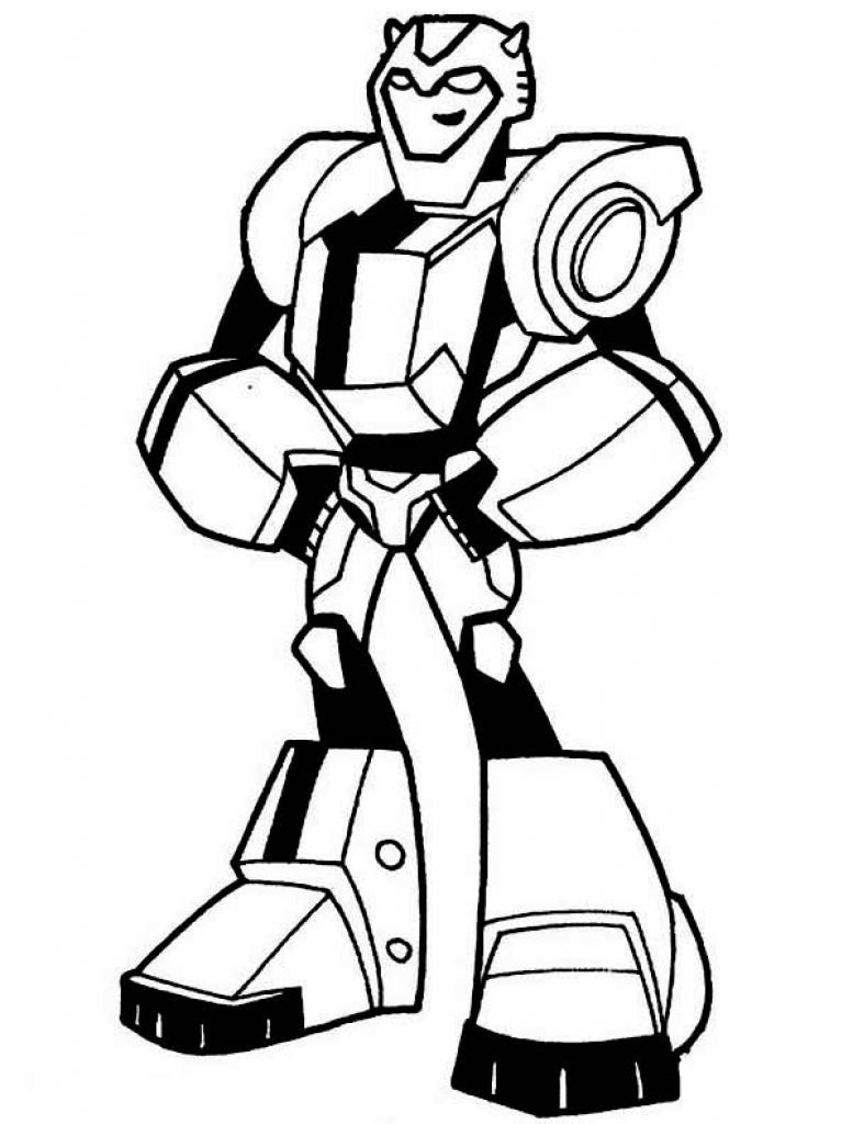 Bumblebee clipart rescue bot. Bots coloring pages
