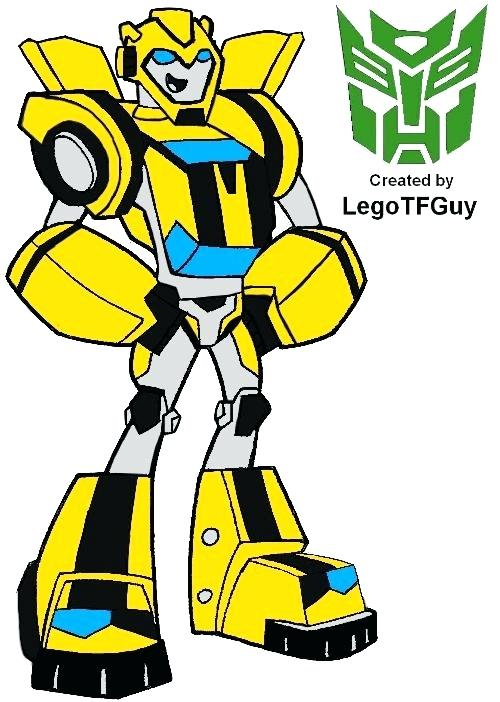 Bumblebee clipart rescue bot. Bots coloring pages biglozstrongman